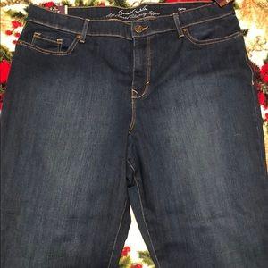 NWT GLORIA VANDERBILT Comfy Curvy Skinny Jeans  18